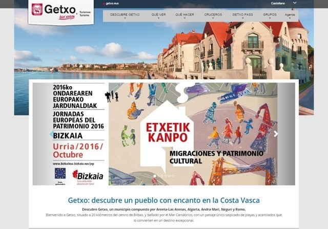 diseño turismo getxo