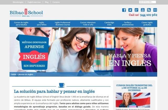 diseño web bilbao school