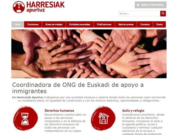 diseño web harresiak