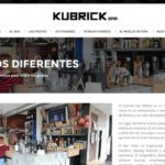 diseño wordpress kubrick bar