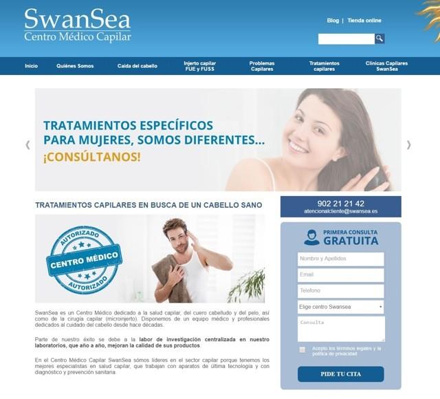 diseño web swansea