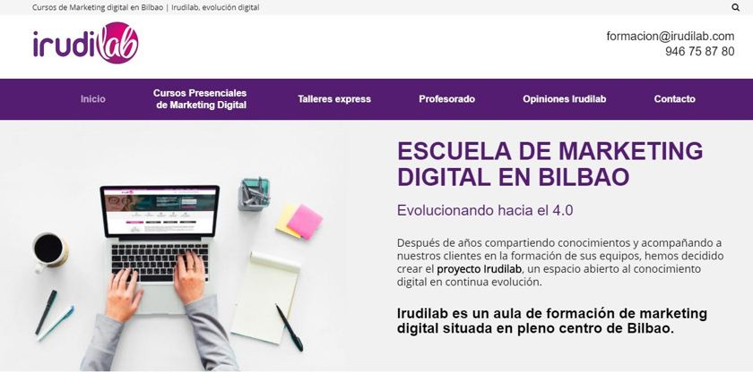 irudilab cursos de marketing digital en bilbao