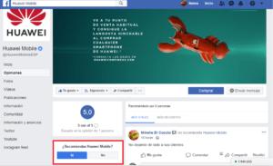 Recomendaciones de Facebook