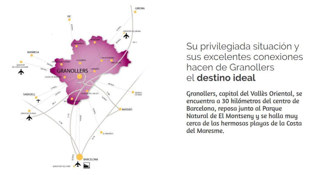 granollers mapa